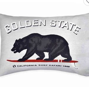 Tilly's California Golden State Pillow Case